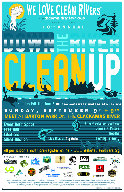 2012 Clackamas River Clean Up